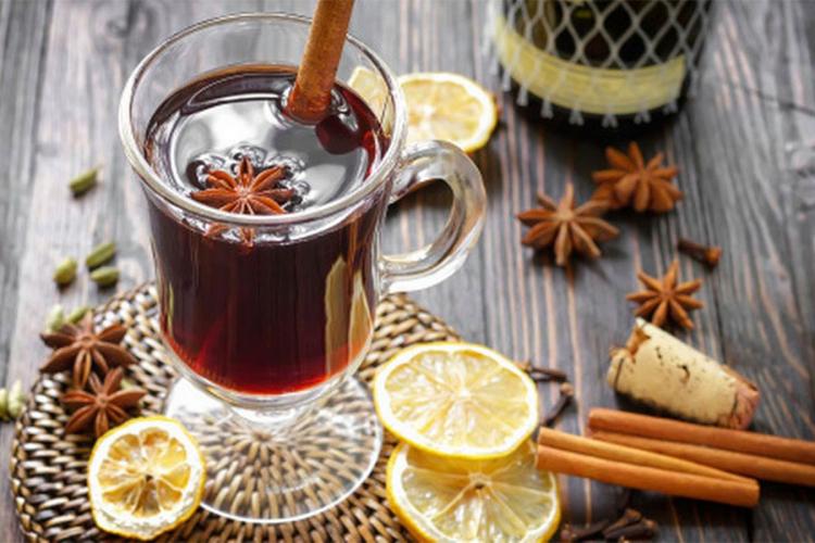 Согревающий напиток ГЛИНТberry с малиной