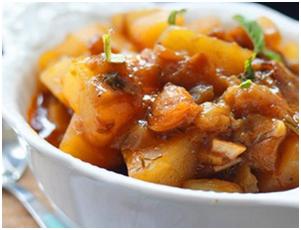Картофель по-домашнему с Ткемали из красной алычи от «TASTY MAGIC»