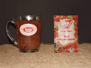 Чай малиновый